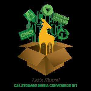 CSL Storage Media Conversion Kit logo